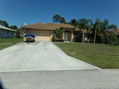 4189 SW Darien Street, Port St. Lucie, FL 34953 - MLS#: A10470993