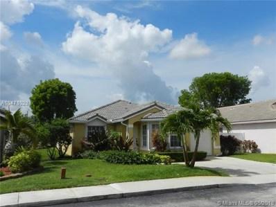 16324 NW 24th St, Pembroke Pines, FL 33028 - MLS#: A10471028