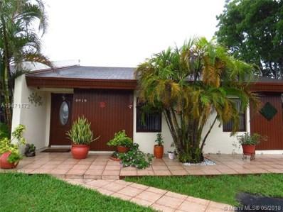 4919 SW 139th Ct UNIT 4919, Miami, FL 33175 - MLS#: A10471172
