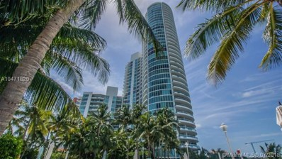1000 S Pointe Dr UNIT 406, Miami Beach, FL 33139 - #: A10471820