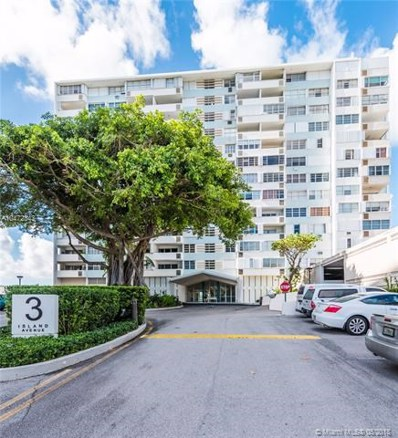 3 Island Ave UNIT 14F, Miami Beach, FL 33139 - MLS#: A10472343