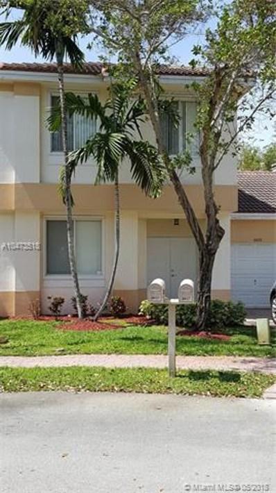 6633 Hidden Cove Dr UNIT 5-7, Davie, FL 33314 - MLS#: A10473518