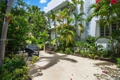 825 Jefferson Ave UNIT 4, Miami Beach, FL 33139 - MLS#: A10474131