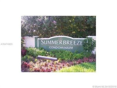 9999 Summerbreeze Dr UNIT 207, Sunrise, FL 33322 - MLS#: A10474923
