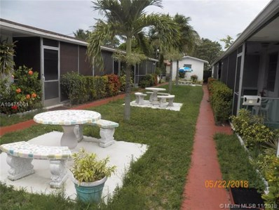 2522 Hayes St UNIT 2, Hollywood, FL 33020 - #: A10475001