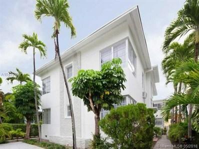 823 Jefferson Ave UNIT 8, Miami Beach, FL 33139 - MLS#: A10475025