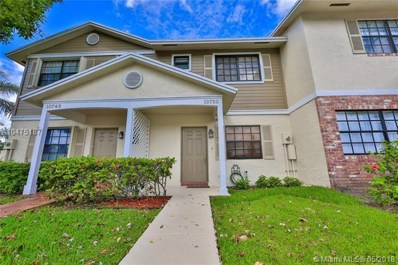 10750 NW 10th St, Pembroke Pines, FL 33026 - MLS#: A10475187