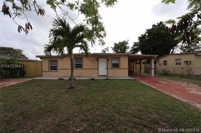 3750 SW 45th Ter, West Park, FL 33023 - MLS#: A10475364