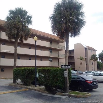 3100 N Pine Island Rd UNIT 209, Sunrise, FL 33351 - MLS#: A10475591