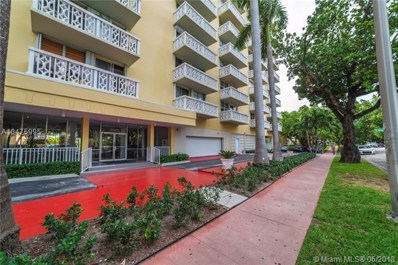 1020 Meridian Ave UNIT 211, Miami Beach, FL 33139 - MLS#: A10475995
