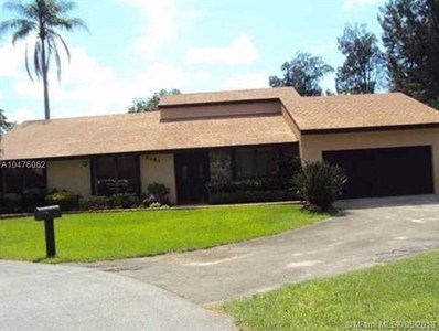 6181 SW 51st Ct, Davie, FL 33314 - MLS#: A10476052