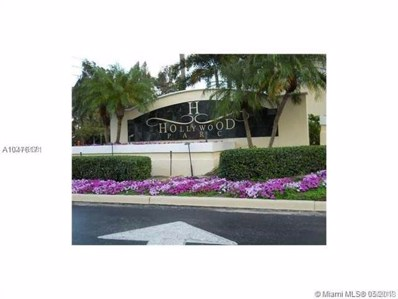 530 S Park UNIT 35-11, Hollywood, FL  - MLS#: A10476171