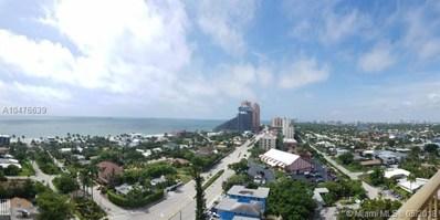 2701 N Ocean Blvd UNIT 16C, Fort Lauderdale, FL 33308 - MLS#: A10476639