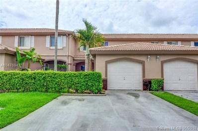 16288 SW 75th St UNIT 0, Miami, FL 33193 - MLS#: A10476947