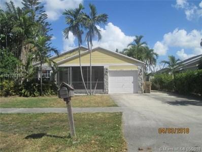 12851 SW 17th Pl, Davie, FL 33325 - MLS#: A10477578