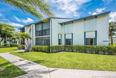 1003 Green Pine Blvd UNIT B1, West Palm Beach, FL 33409 - MLS#: A10477829