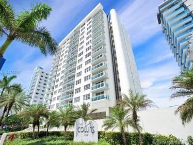 6917 Collins Ave UNIT 805, Miami Beach, FL 33141 - MLS#: A10478385