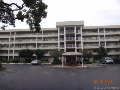 806 Cypress Blvd UNIT 507, Pompano Beach, FL 33069 - MLS#: A10478846