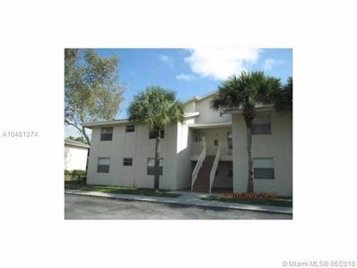 11573 NW 43rd St UNIT 11573, Coral Springs, FL 33060 - MLS#: A10481374