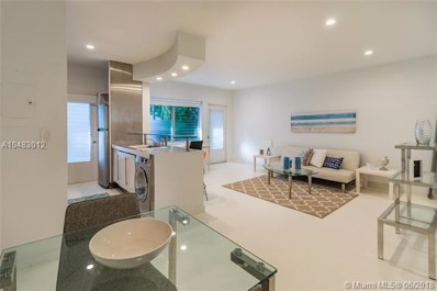1021 Michigan Ave UNIT 8, Miami Beach, FL 33139 - MLS#: A10483012