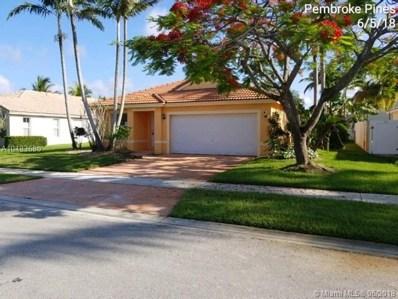 16293 SW 11th St, Pembroke Pines, FL 33027 - MLS#: A10483680