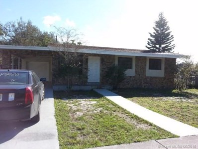 3341 SW 40th Ave, West Park, FL 33023 - MLS#: A10485753
