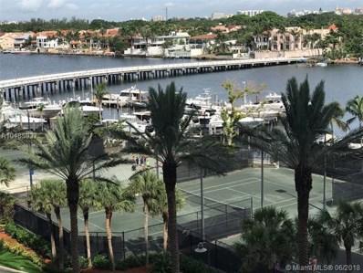 2 Grove Isle Dr UNIT B608, Miami, FL 33133 - MLS#: A10485937