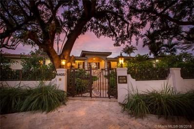 4405 Granada Bl, Coral Gables, FL 33146 - MLS#: A10487557
