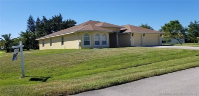 100 SW Lion Ln, Port St. Lucie, FL 34953 - MLS#: A10487974