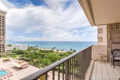 1201 S Ocean Dr UNIT 1103S, Hollywood, FL 33019 - MLS#: A10487997