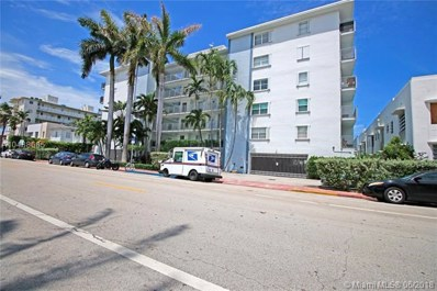 1545 Euclid Ave UNIT 3H, Miami Beach, FL 33139 - MLS#: A10488685