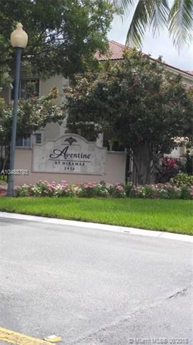 2564 Centergate Dr UNIT 106, Miramar, FL 33025 - MLS#: A10488793