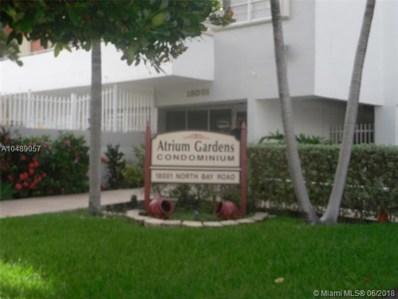 18001 N Bay Rd UNIT 207, Sunny Isles Beach, FL 33160 - MLS#: A10489057