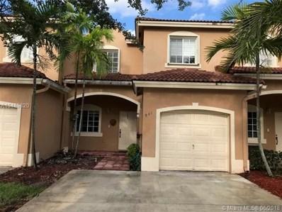 941 SW 148th Pl, Miami, FL 33194 - MLS#: A10489820