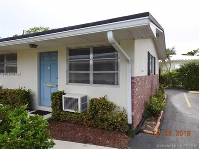 2236 Taylor St UNIT 12, Hollywood, FL 33020 - MLS#: A10490186