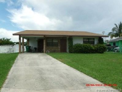 255 NW 12 Ct, Dania Beach, FL 33004 - MLS#: A10490298