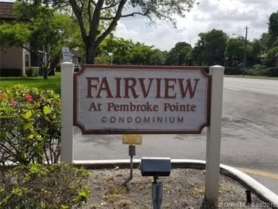 10357 NW 11th St UNIT 103, Pembroke Pines, FL 33026 - MLS#: A10490603