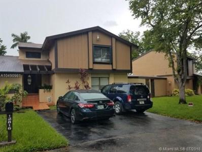 12816 SW 70th Ln UNIT 12816, Miami, FL 33183 - MLS#: A10490981