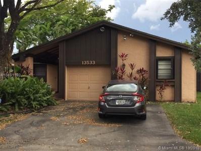 13533 SW 108 St Cir S, Miami, FL 33186 - MLS#: A10491192