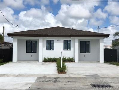 4011 SW 19th St UNIT A, West Park, FL 33023 - MLS#: A10491231