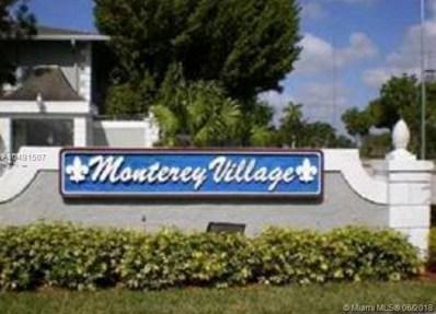 458 NE 210th Cir Ter UNIT 101-8, Miami, FL 33179 - MLS#: A10491507