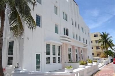 3025 Indian Creek Dr UNIT 101, Miami Beach, FL 33140 - MLS#: A10491640
