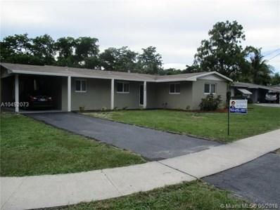 384 NW 47th Ave, Plantation, FL 33317 - MLS#: A10492073