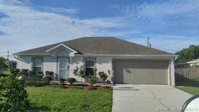 4435 SW Gagnon Rd, Port St. Lucie, FL 34953 - MLS#: A10492232