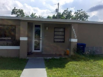 19330 NW 6 Court, Miami Gardens, FL 33169 - MLS#: A10492243
