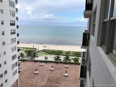 6039 Collins Ave UNIT 1021, Miami Beach, FL 33140 - MLS#: A10492267