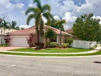 1599 SW 194th Ave, Pembroke Pines, FL 33029 - MLS#: A10493950