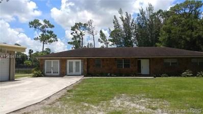 7824 Pioneer Rd, West Palm Beach, FL 33411 - #: A10494158