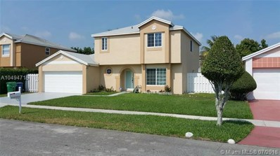 3190 Ensenada Way, Miramar, FL 33025 - MLS#: A10494715