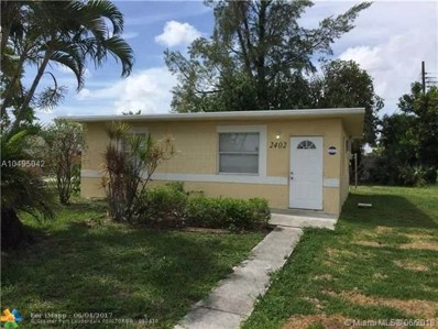 2402 NW 9th St, Pompano Beach, FL 33069 - MLS#: A10495042